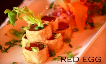$30 Groupon to Red Egg - Red Egg in New York City