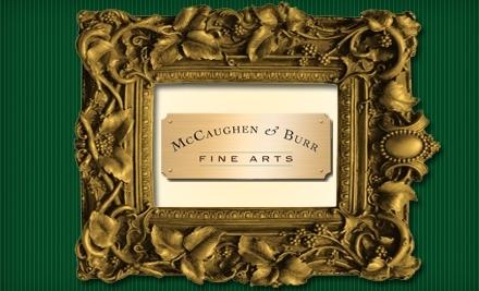 McCaughen and Burr Fine Arts - McCaughen and Burr Fine Arts in Webster Groves
