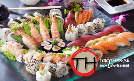$25 Groupon to Tokyo House - Tokyo House in Raleigh