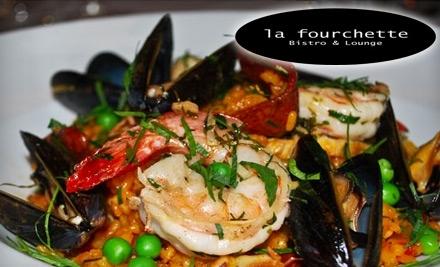 $40 Groupon to La Fourchette - La Fourchette in Atlanta
