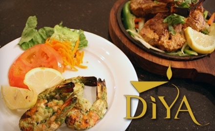 $30 Groupon to Diya Restaurant, Lounge & Banquet - Diya Restaurant, Lounge & Banquet in Vienna