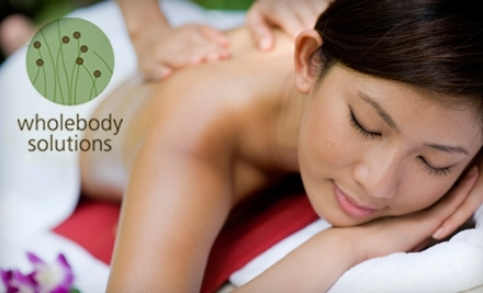 Wholebody Solutions: 60-Minute Therapeutic Massage - Wholebody Solutions in Quincy