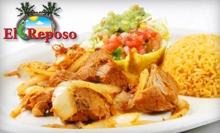 $20 Groupon to El Reposo - El Reposo in Fayetteville