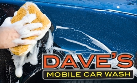 Dave's Mobile Car Wash: The Works Wash Package - Dave's Mobile Car Wash in