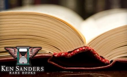 $50 Groupon to Ken Sanders Rare Books - Ken Sanders Rare Books in Salt Lake City