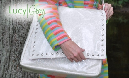 Lucy Grey: $80 Worth of Customized Handbags - Lucy Grey in