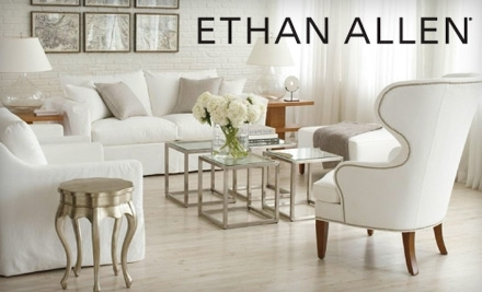 ethan allen living room chairs.  300 Groupon to Ethan Allen Still Available in Saugus Furniture Decoration Access