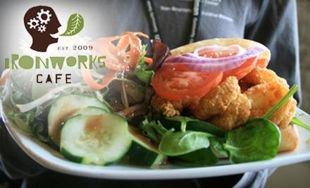 $16 Groupon to Ironworks Cafe - Ironworks Cafe in Madison