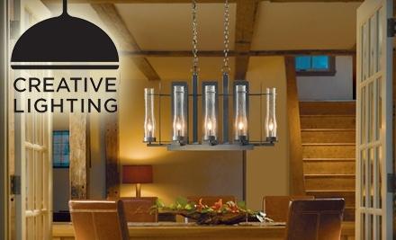 $75 Groupon to Creative Lighting - Creative Lighting in Saint Paul