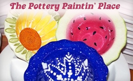 $30 Groupon to The Pottery Paintin' Place - The Pottery Paintin' Place in Lunenburg