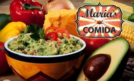 $20 Groupon to Maria's Comida - Maria's Comida in Hamtramck