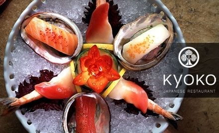 $25 Groupon to Kyoko Japanese Restaurant - Kyoko Japanese Restaurant in Fayetteville