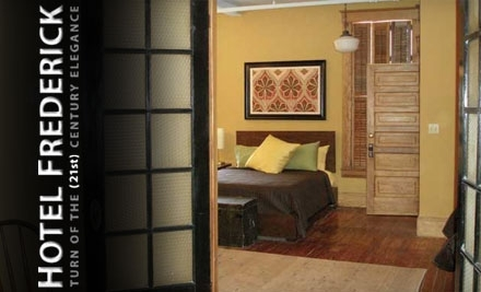 Hotel Frederick: 1 Weekend-Night Stay  - Hotel Frederick in Boonville