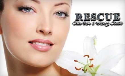 Rescue Skin Care & Waxing Studio: Choose One of Four 1-Hour Massages - Rescue Skin Care & Waxing Studio in Dana Point