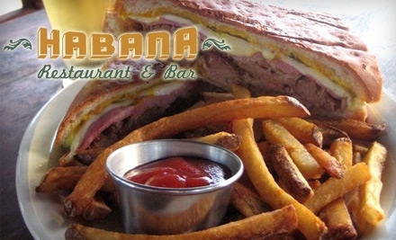$20 Groupon to Habana Restaurant - Habana Restaurant in Austin