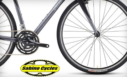 $50 Groupon to Sabino Cycles - Sabino Cycles in Tucson