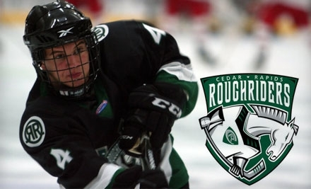 Cedar Rapids RoughRiders vs. Des Moines on Fri., Feb. 11 at 7:05PM - Cedar Rapids RoughRiders in Cedar Rapids