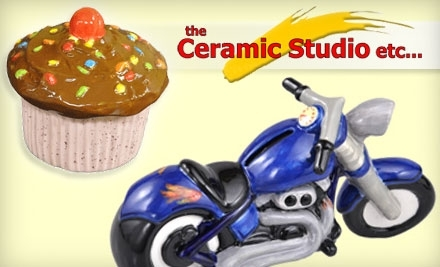 $30 Groupon to The Ceramic Studio Etc. - The Ceramic Studio Etc. in