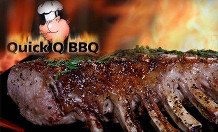 $15 Groupon to Quick Q BBQ - Quick Q BBQ in St. Petersburg