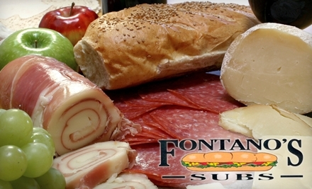 Fontano's Subs: $10 Worth of Subs - Fontano's Subs in Hinsdale