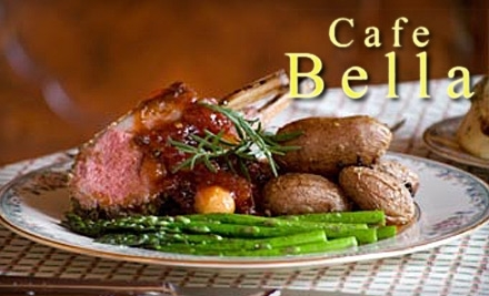 $40 Groupon to Cafe Bella - Cafe Bella in Mason