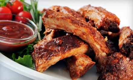 $10 Groupon to E & L Barbeque - E & L Barbeque in Jackson