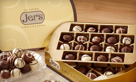 $25 Groupon to Jer's Chocolates - Jer's Chocolates in Solana Beach