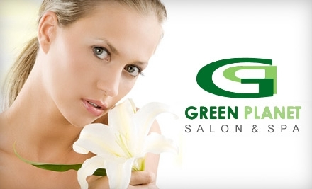 $125 Groupon to Green Planet Salon & Spa - Green Planet Salon & Spa in Brooklyn