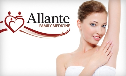 AllanteLife, Family Medical: 3 Small Area Laser Hair-Removal Treatments - AllanteLife, Family Medical in Boise