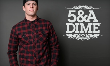$50 Groupon to 5&A Dime - 5&A Dime in San Diego