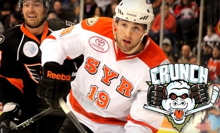 Syracuse Crunch vs. Charlotte Checkers on Tues., Feb. 22 at 7:00PM  - Syracuse Crunch in Syracuse
