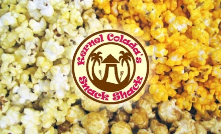 $20 Groupon to Kernel Colada's Snack Shack - Kernel Colada's Snack Shack in Columbia City