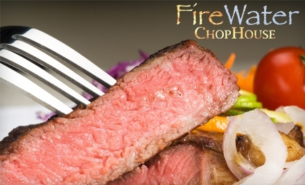 FireWater Chophouse: $20 Groupon for Lunch or Sunday Brunch - FireWater Chophouse in Cumming