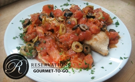$25 Groupon to Reservations Gourmet-To-Go - Reservations Gourmet-To-Go in Tampa