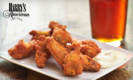 $15 Groupon to Harry's American Grill & Bar - Harry's American Grill & Bar in Yukon