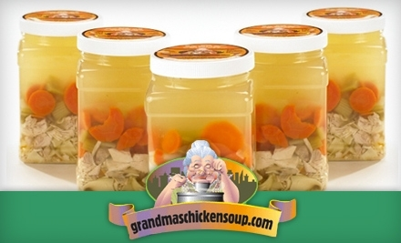 $30 Groupon to Grandma's Chicken Soup - Grandma's Chicken Soup in