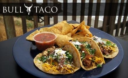 $15 Groupon to Bull Taco - Bull Taco in Oceanside