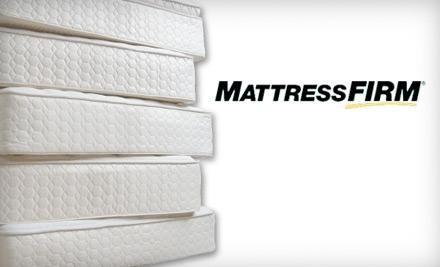 $200 Groupon to Mattress Firm - Mattress Firm in Charleston