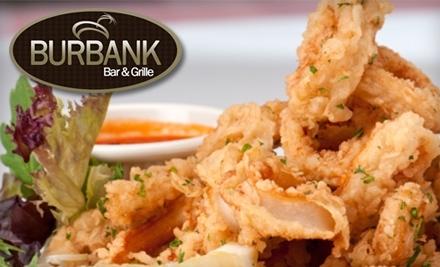 $40 Groupon to Burbank Bar & Grille - Burbank Bar & Grille in Burbank