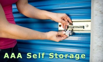 $70 Groupon to AAA Storage - AAA Storage in Abilene