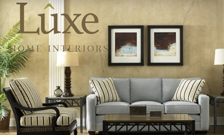 $100 Groupon to Luxe Home Interiors - Luxe Home Interiors in Granger
