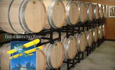 Chateau Aeronautique Winery: Private Wine Tasting for 4 - Chateau Aeronautique Winery in Jackson