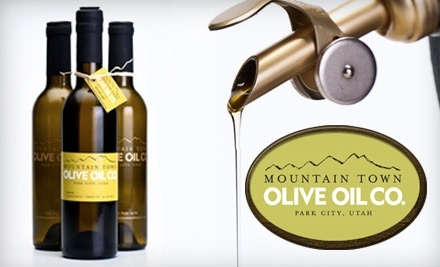 $20 Groupon to Mountain Town Olive Oil - Mountain Town Olive Oil in Park City