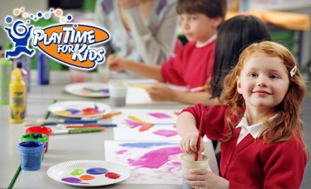PlayTime for Kids: Yearly Membership and 4 Hours of Childcare - PlayTime for Kids in The Woodlands