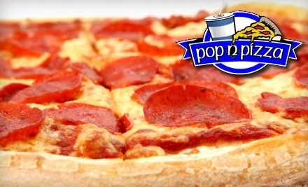 $10 Groupon to Pop n Pizza - Pop n Pizza in Shreveport