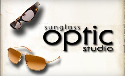 $100 Groupon to Sunglass Optic Studio - Sunglass Optic Studio in Las Vegas
