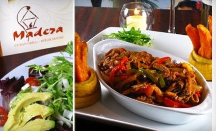 $30 Groupon to Madera Cuban Grill and Steakhouse - Madera Cuban Grill and Steakhouse in Long Island City