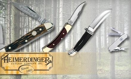 $35 Groupon to Heimerdinger Cutlery Company - Heimerdinger Cutlery Company in Louisville