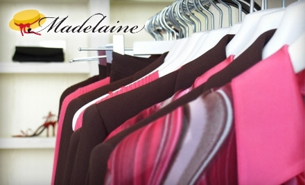 $30 Groupon to Madelaine Cleaners - Madelaine Cleaners in