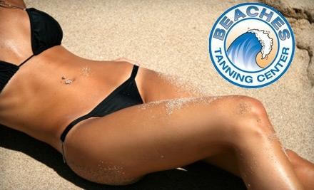 Beaches Tanning Center: 3 Spray Tans - Beaches Tanning Center in Salt Lake City